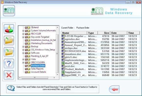 001Micron Windows Data Salvage Tool screen shot